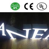 Signes acryliques de lettre de la coutume DEL