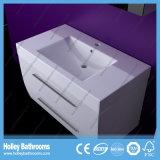 Moderner LED-Lampen-Licht-Lack-populäre hohe Lichtbogen-Tür-Badezimmer-Möbel (B922P)