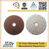 최신 인기 상품 화강암을%s 3개 단계 다이아몬드 유연한 닦는 패드