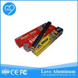 Rodillo del papel de aluminio/hoja de la cocina/rodillo de la hoja de Aluninum