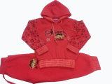 O velo caçoa o terno do movimento do terno de trilha do terno do Sportswear da menina a roupa Swg-133 de s nas crianças '