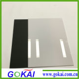 Material acrílico 1mm Black Acrylic Sheet