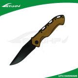 Нож отделки чернением складывая карманный с замком вкладыша