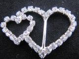 Boucle ronde en gros de Rhinestone pour l'invitation de mariage