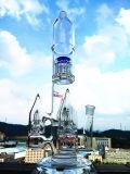 Fábrica de fumo de vidro colorida da tubulação de água da alta qualidade