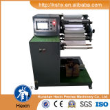 Machine de fente de papier d'autocollant horizontal
