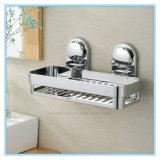 Шкаф полки хранения стены ванной комнаты вися с чашкой всасывания вакуума воздуха