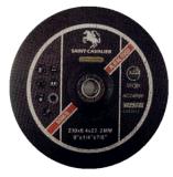 Het Malende Wiel 230X6X22.2 van schuurmiddelen