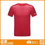 T-shirt sec d'ajustement de la mode des hommes