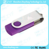 Romantisches Geschenk-purpurrotes Schwenker 16GB USB-Laufwerk (ZYF1824)