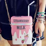 귀여운 음료 상자는 핸드백 여가 소녀 어깨에 매는 가방 Sy7687를 자루에 넣는다