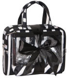 Neues Clear PVC Travel Toiletry Wash Cosmetic Bag mit Bow