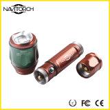 Justierbare rutschfeste Zylinder-Aluminiumlegierung-Fackel (NK-06)