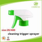 Coutume 28 pompe de pulvérisateur de déclenchement de 400 plastiques pour le nettoyeur