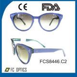 Frame popular de Eyewear dos óculos de sol da forma
