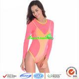 Sexy Fluorescent Swimwears/Leuchtstoffbadebekleidung der Dame einteilig