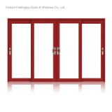 Portes de patio contemporaines en aluminium (FT-D126)