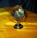 方法水晶地球のガラス玉のワールドカップ(KS12080)