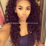 Оптовые волнистые парики фронта шнурка 5A/парик человеческих волос