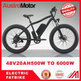 bici de montaña eléctrica 26inch con la bici eléctrica de la bici gorda gorda del neumático 48V 1000W 500W 3000W Fatbike
