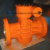 API6d inverteu a válvula de plugue lubrific balanço do selo do óleo Flange/RF da pressão