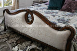 Nuevos sistemas caseros clásicos de los muebles del dormitorio de la cama americana antigua del estilo