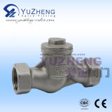 Aceite de agua Nitric Acid Flanged Vertical Check Valve
