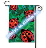 La Camera stampata popolare decora la bandierina del giardino (HY09124)