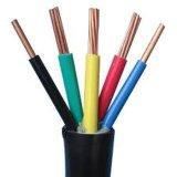 Câble de construction isolé par PVC de /Multicore de faisceau de /4 de 3 faisceaux