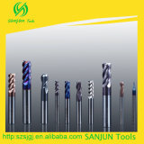 Naco Coating를 가진 탄화물 Ball Nose End Mill