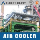Sistema de refrigeração do ar para revestimento em pó