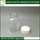 bouteille de pillule en plastique de médecine de l'animal familier 120ml avec le chapeau d'épreuve d'enfant