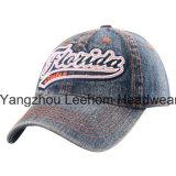 Gewaschene Denim-Jeans-Golf-Freizeit-Sport-Baseballmütze