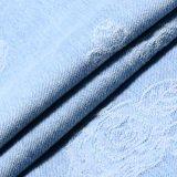 Tissu de denim de jacquard de Spandex de coton pour des jeans