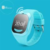 子供のためのスマートな腕時計の携帯電話を置いているGelbert GPSの追跡者