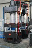 Prensa hidráulica de la embutición profunda de 4 columnas para el molde doble del fregadero del tazón de fuente