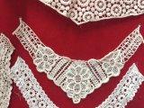 Colar por atacado do laço da garganta do Crochet dos projetos do colar do laço da garganta do poliéster de China
