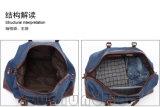 La mode met en sac le bagage de déplacement portatif occasionnel de rétro toile