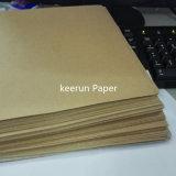 papel de empaquetado de la tarjeta de rectángulo del cartón de la tarjeta de papel de 150g Kraft