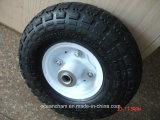 Roda de borracha pneumática de 10 polegadas para o carro da ferramenta (4.10/3.50-4)