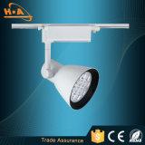 Luz blanca de la pista del negro SMD LED del almacén de la venta al por mayor de China