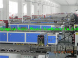 Chaîne de production en plastique en bois de profil de PVC WPC