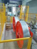 Het automatische Type Wire&Cable die van Kooi de Machine Verdraaide Bundelende Machine verdraait die van de Machine van de Draad Machine rolt