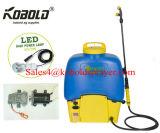 20L 배낭 전기 스프레이어 펌프, 12V 재충전 전지 스프레이어