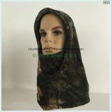 маска лыжи Hoody твердой воинской приполюсной крышки шлема Beanie шеи стороны маски ватки теплой оптовая померанцовая изготовленный на заказ