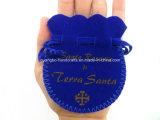 Poches faites sur commande de bijoux de corde d'aspiration de suède