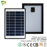 5W Poly Solar Panel Module con Highquality Solar Cell