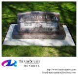 Monumento grave del granito di stile americano