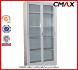 Стальные шкаф для картотеки Cmax-FC04-003 офиса дверей кухонного шкафа 4 металла шкафа стеклянный подгонянное структурой