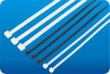 Cinta plástica de nylon do baixo preço do fornecedor de China, tamanhos de borracha da cinta plástica, cinta plástica plástica Releasable com etiqueta